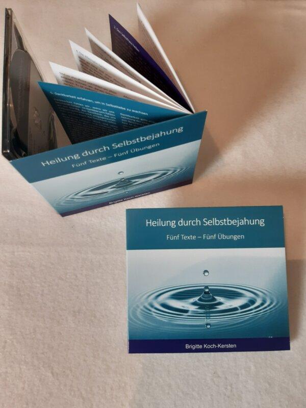CD mit Booklet: Heilung durch Selbstbejahung- 5 Texte - 5 Übungen